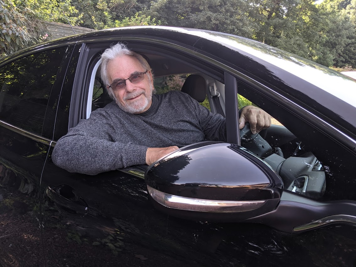 Rod McNeill, the chair of Bo'ness Car 4U. Pic by The PR Store.